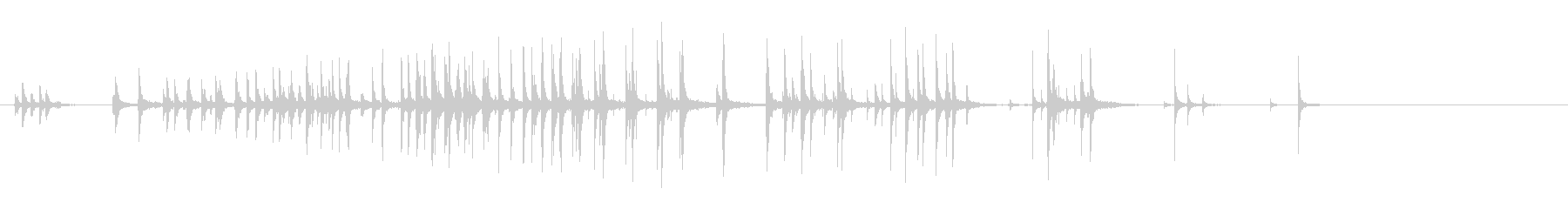 古い木格子:ストレスのきしみとパチパチの未再生の波形