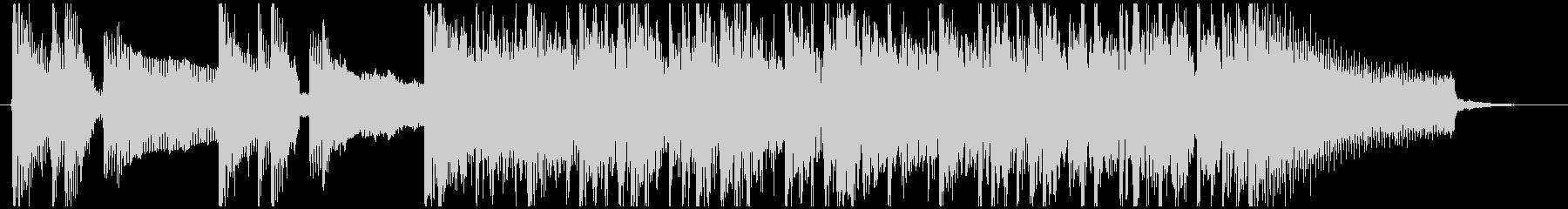 スラップベースが効果的なジングルの未再生の波形