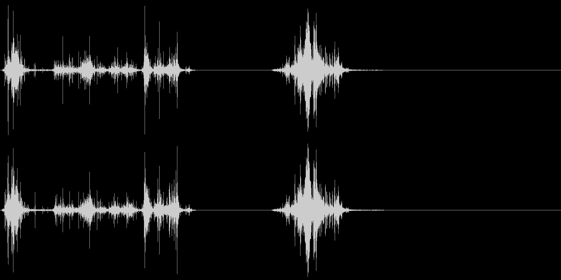 Gore Splatters X2の未再生の波形