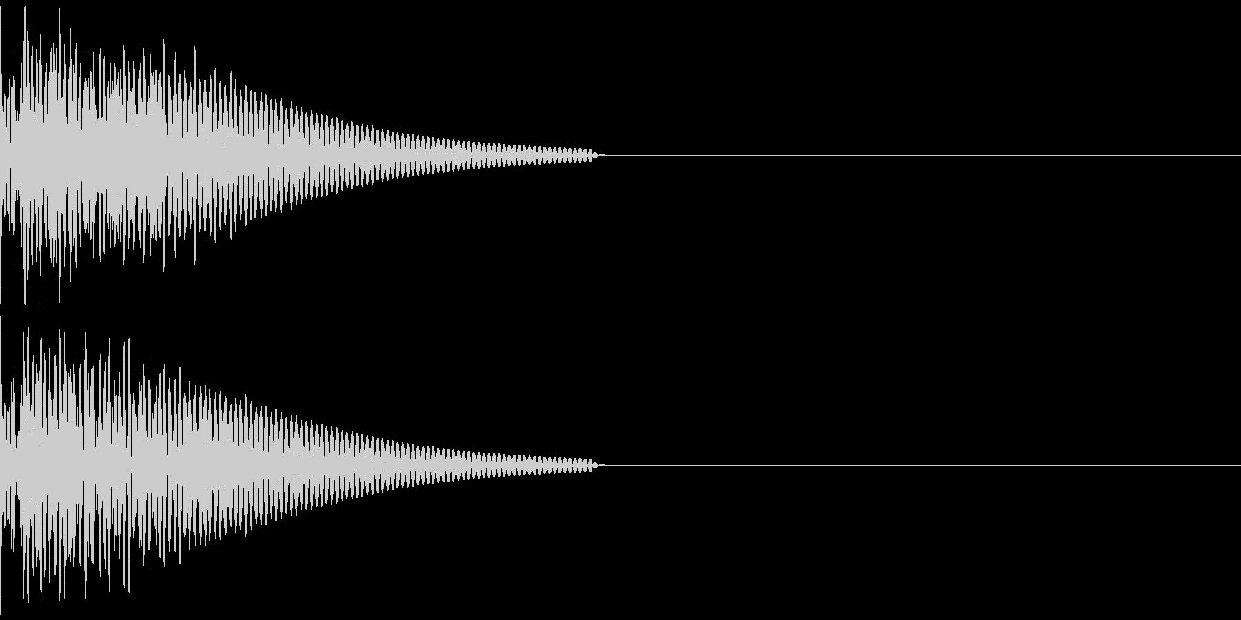 キック/壮大/広範囲/ドラム/低音/1Bの未再生の波形