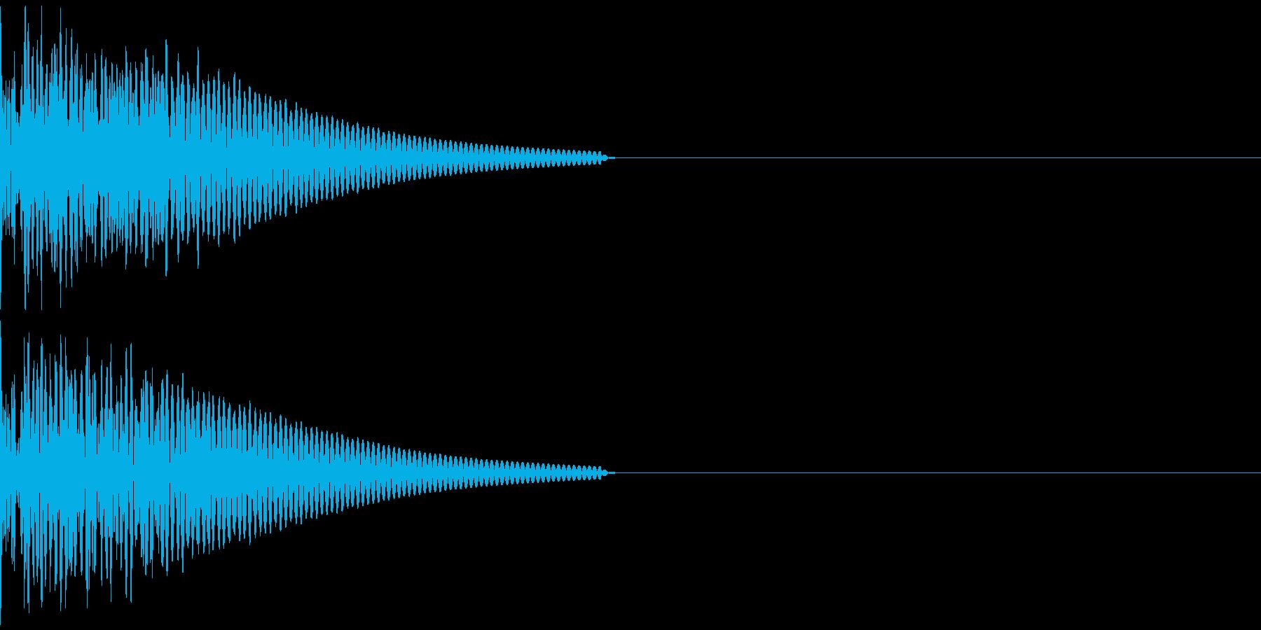 キック/壮大/広範囲/ドラム/低音/1Bの再生済みの波形