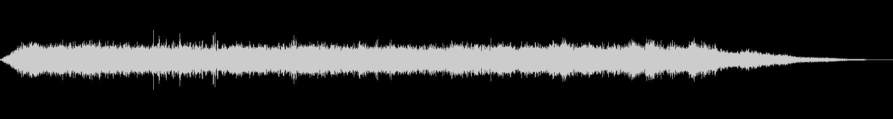 海 波 浜辺 海岸 カモメ等の環境音08の未再生の波形