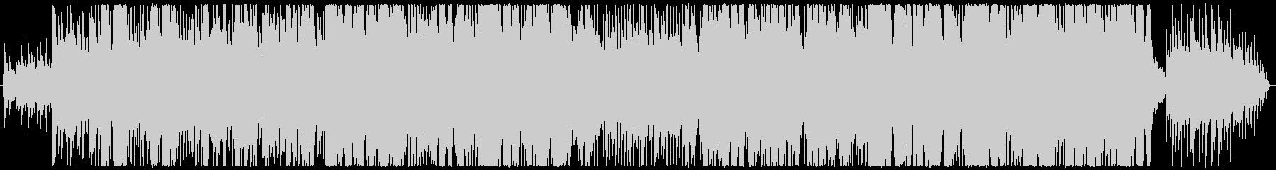 ピアノ主体のジャズの未再生の波形