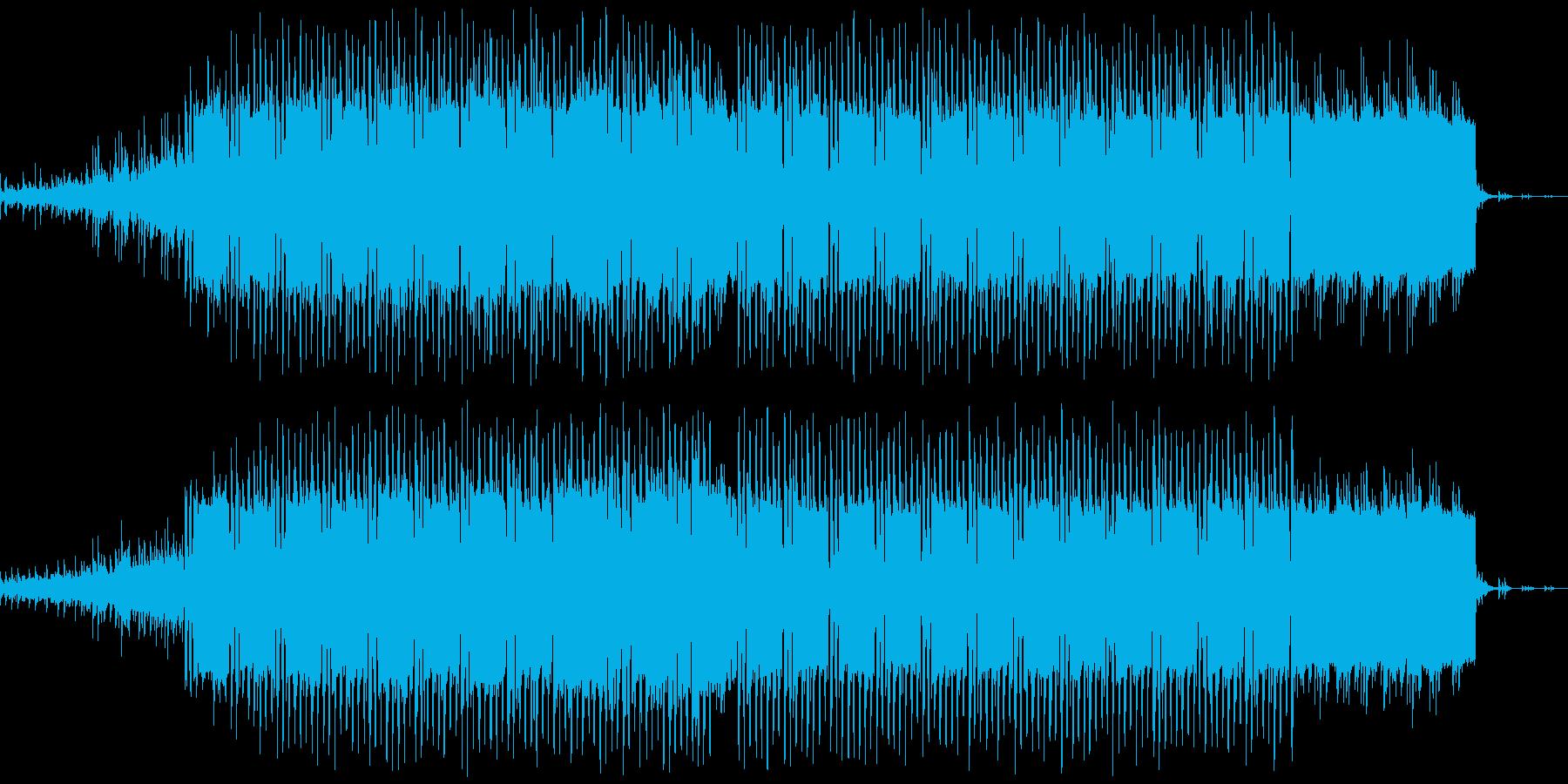 アンビエントミュージック 淡々 テ...の再生済みの波形