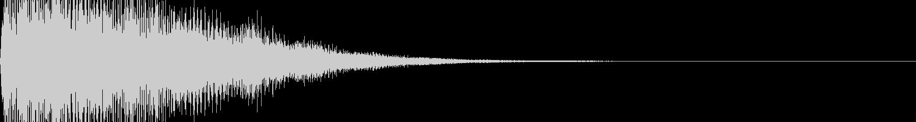 ピロロン 低めの未再生の波形