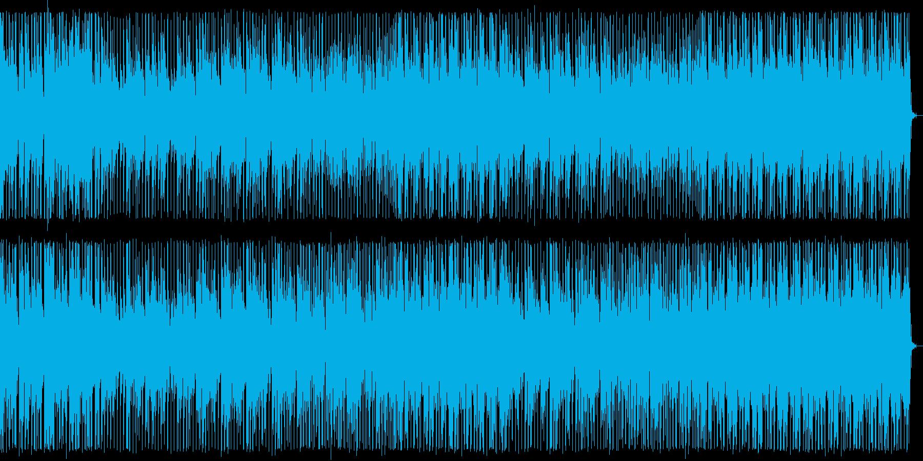 穏やかな夜空を感じるハウスNo680_1の再生済みの波形