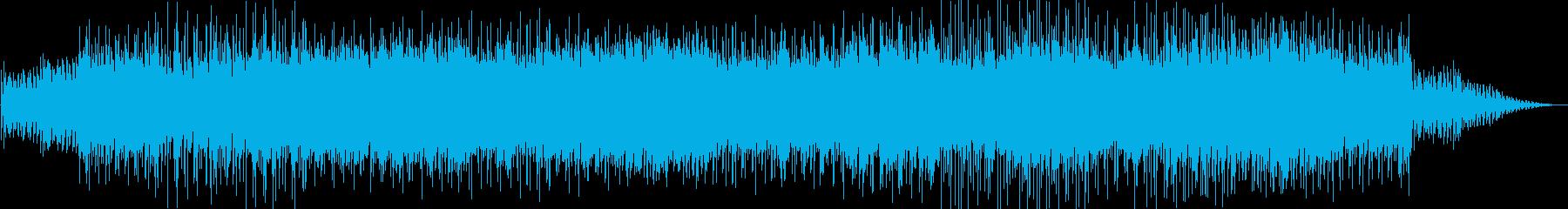 明るく軽快な雰囲気のハワイアンソングの再生済みの波形