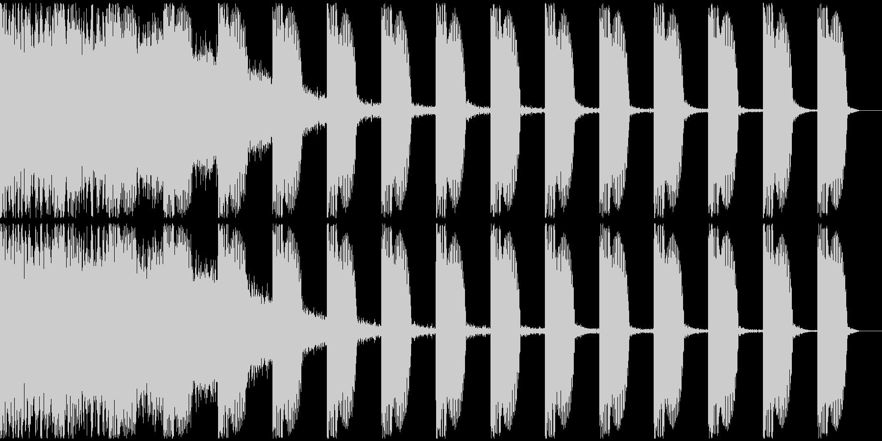 【EDM】ロング9、ショート1の未再生の波形