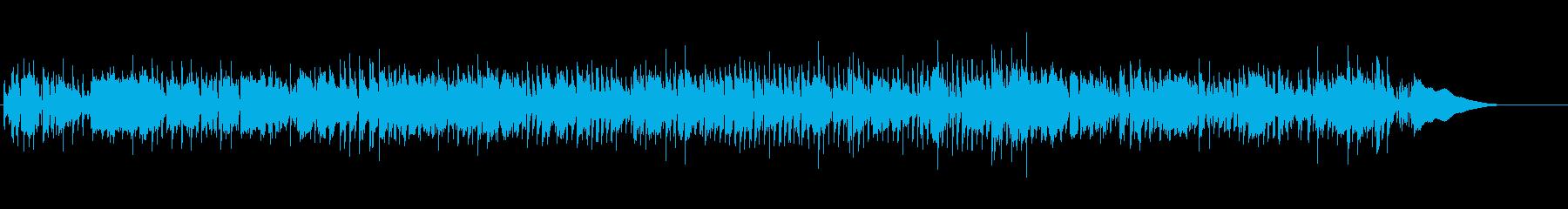 洋楽 ロックをイメージしたロカビリー風の再生済みの波形