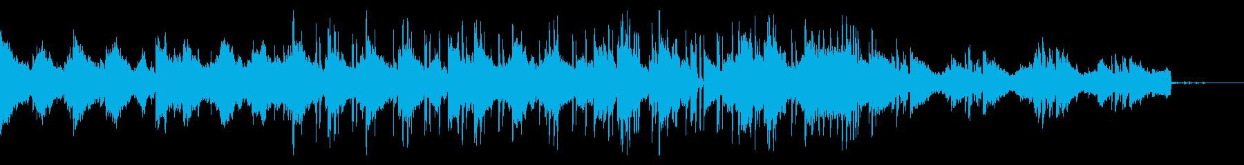 エレピメインのLo-fi HipHopの再生済みの波形