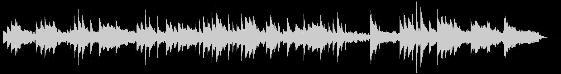 ヒーリング、リラクゼーションなピアノ曲の未再生の波形