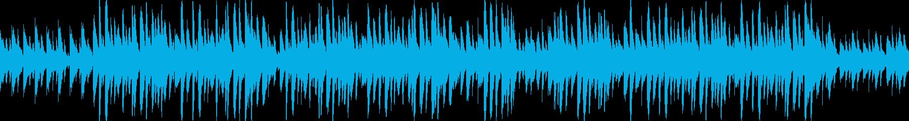 ほのぼの・メルヘン・マリンバの再生済みの波形