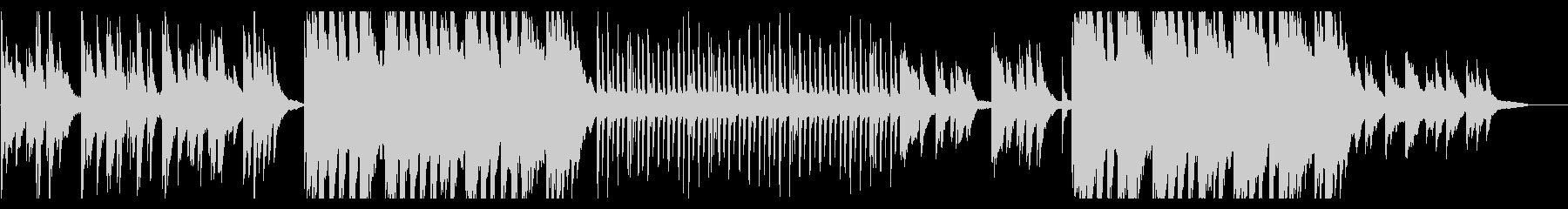 切なさと温かみを感じる和風ピアノBGMの未再生の波形