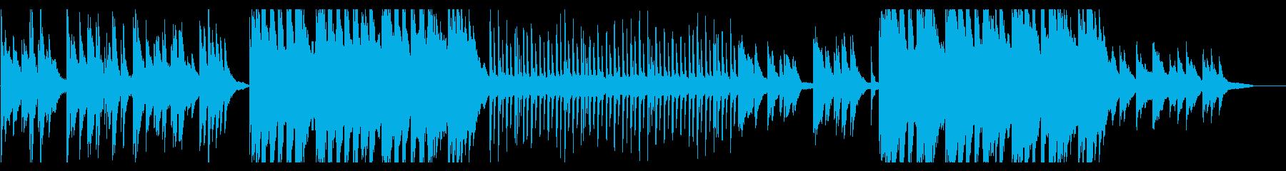 切なさと温かみを感じる和風ピアノBGMの再生済みの波形