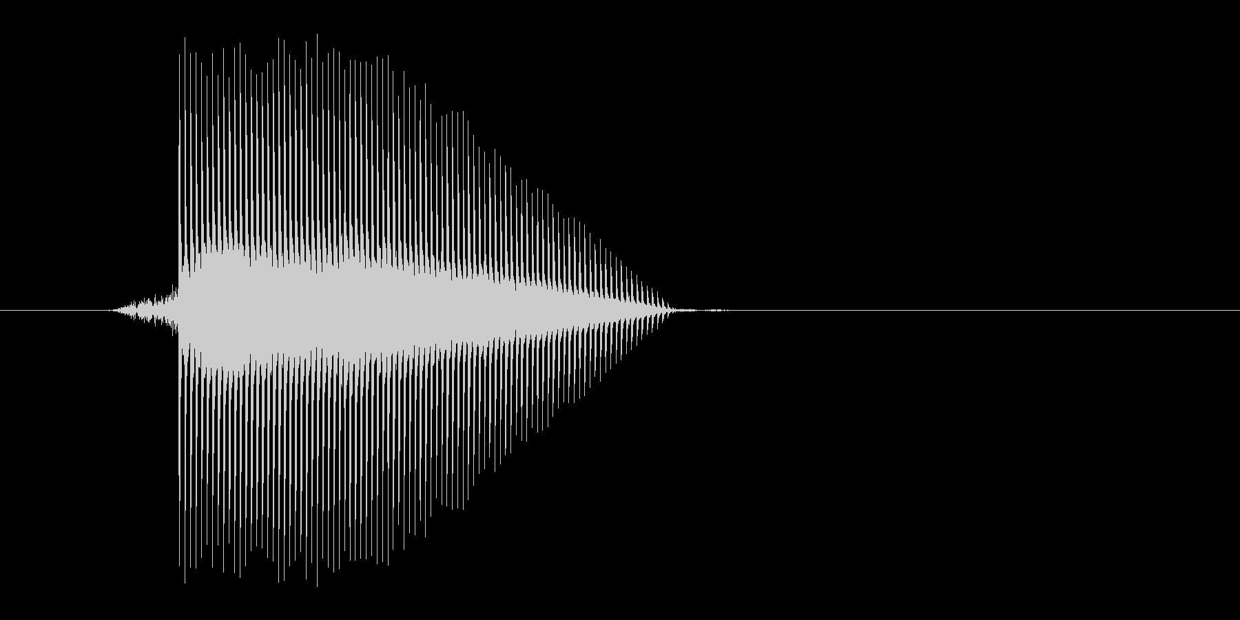 ゲーム(ファミコン風)ジャンプ音_037の未再生の波形