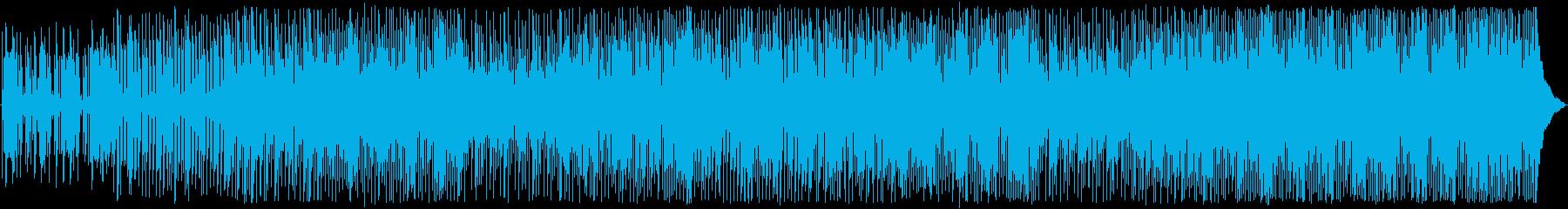 ピアノ、オルガン、ギターをフィーチ...の再生済みの波形