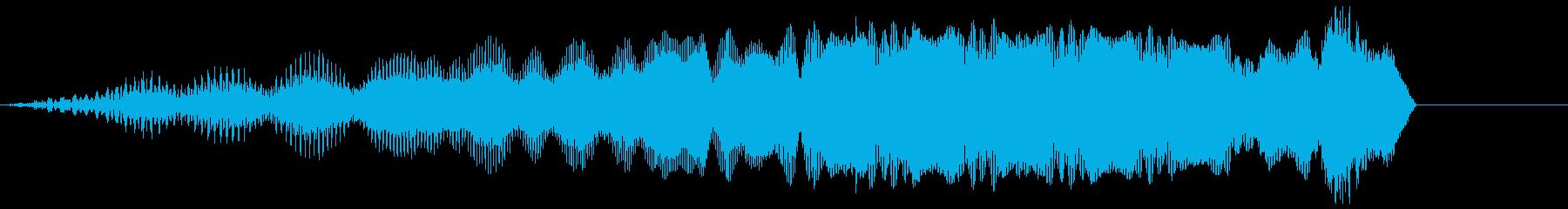 電磁4の再生済みの波形