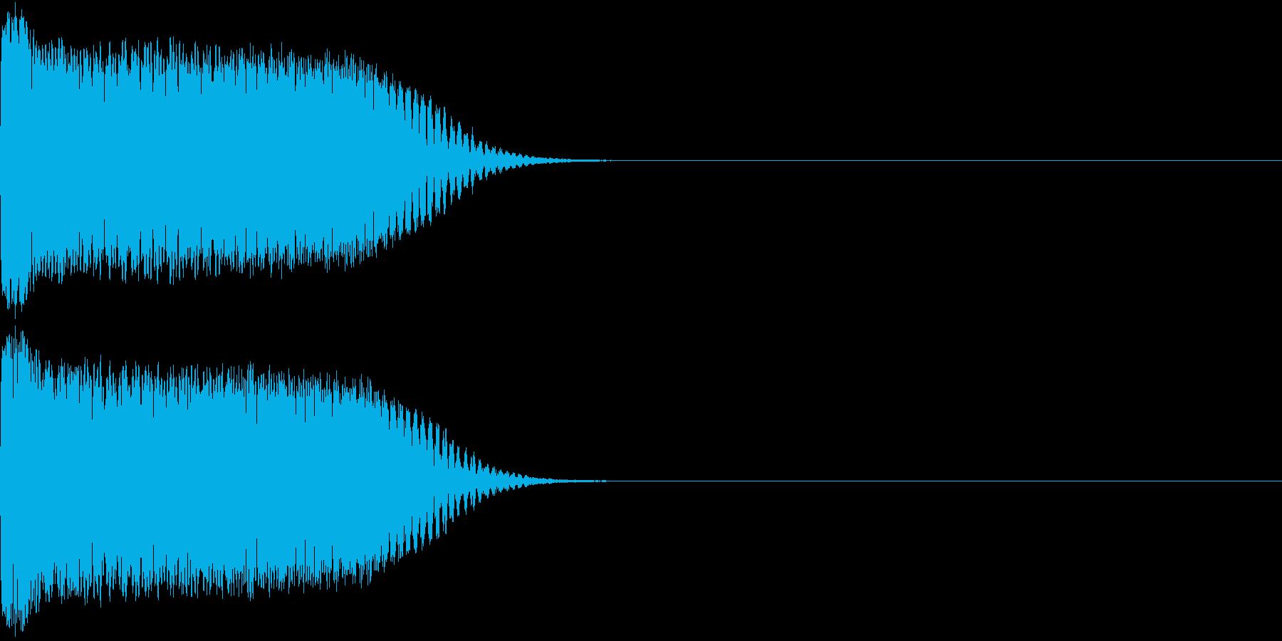 シャキーン 光る キラリ キューン 05の再生済みの波形
