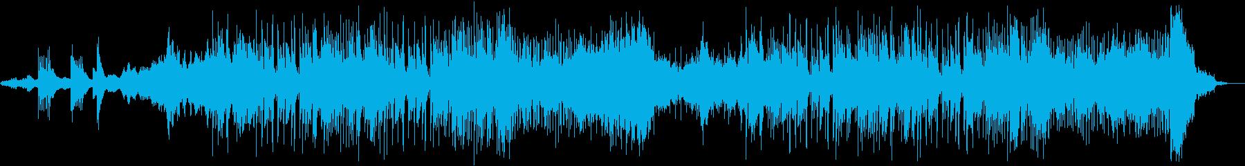 幻想的な和風曲(long)の再生済みの波形