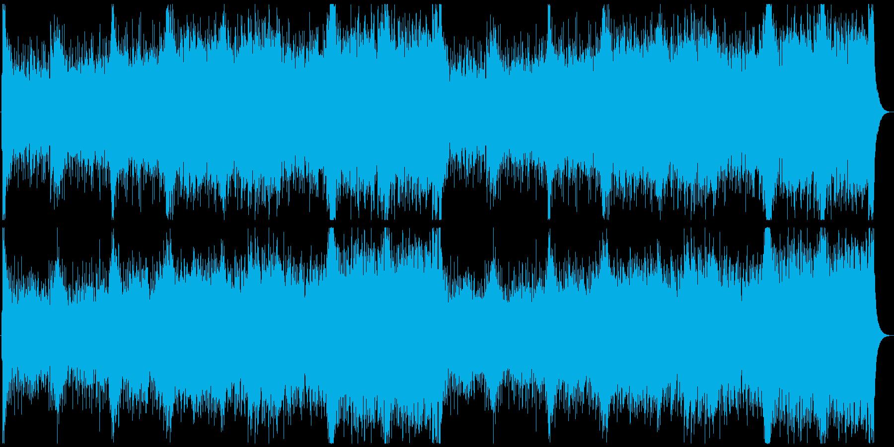 情熱的な和風オーケストラの再生済みの波形