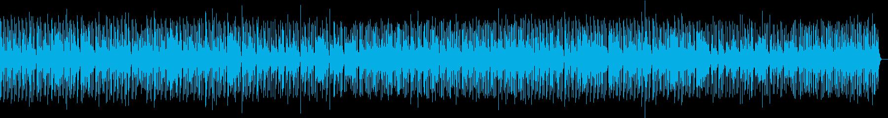 お洒落でグルーブ感のあるブルースBGMの再生済みの波形