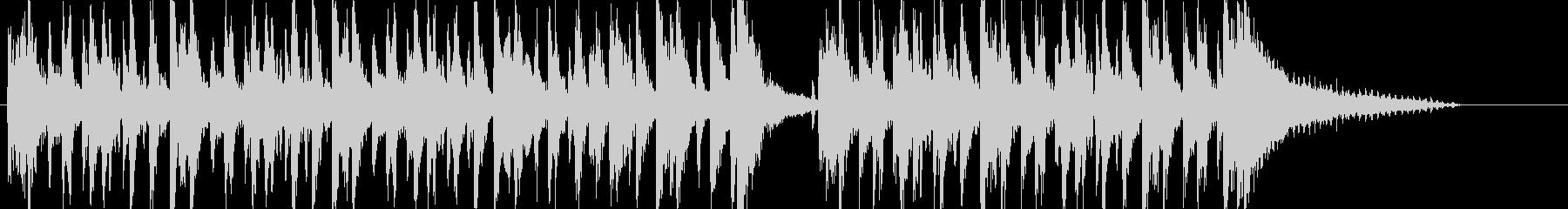 【CM】ダークでお洒落なイメージの未再生の波形
