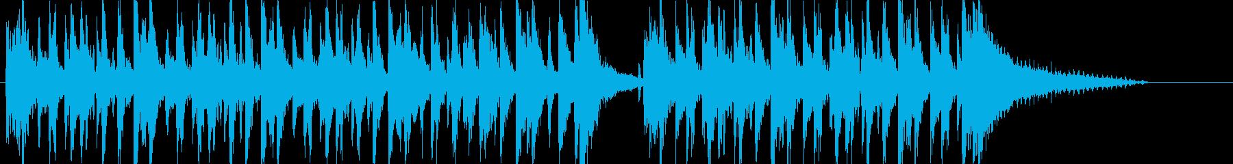 【CM】ダークでお洒落なイメージの再生済みの波形