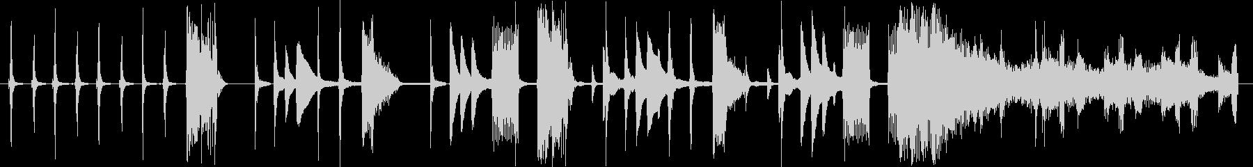 BGM for CM using various clock sounds's unreproduced waveform