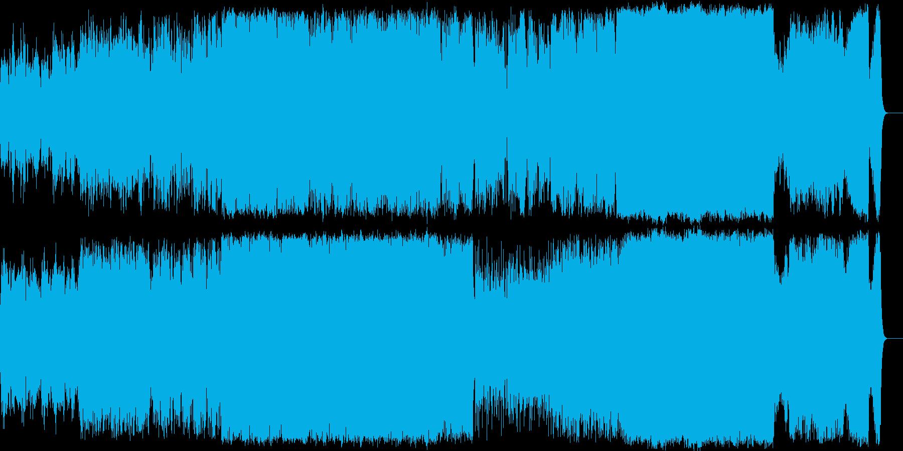 二胡/笛 主体の和風エピック BGMの再生済みの波形