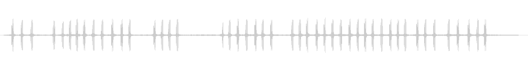 クリケット2の未再生の波形