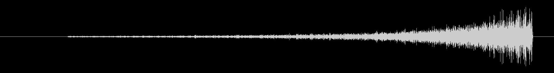 リバース ショートウィンド01の未再生の波形