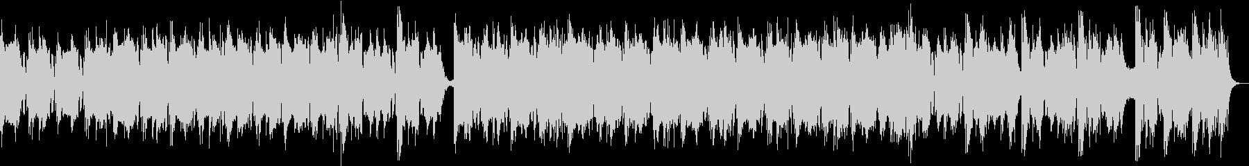 幻想的なエレクトロニカ/シンセロック曲の未再生の波形