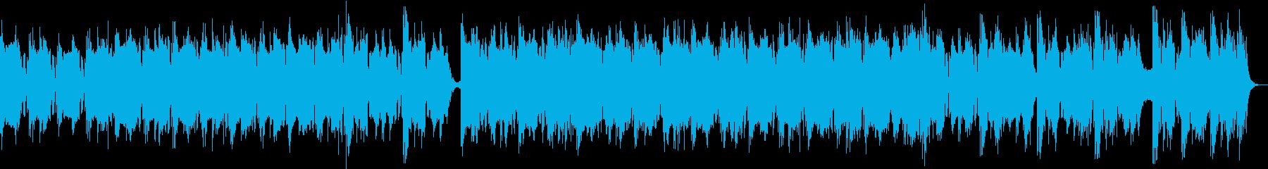 幻想的なエレクトロニカ/シンセロック曲の再生済みの波形