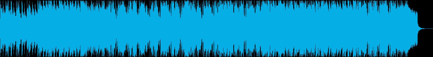 和風で日本的な雰囲気の趣あるシンセBGMの再生済みの波形
