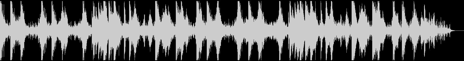 美しくノスタルジックなピアノアンビエントの未再生の波形