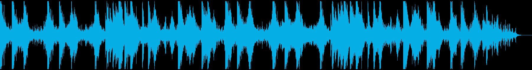 美しくノスタルジックなピアノアンビエントの再生済みの波形