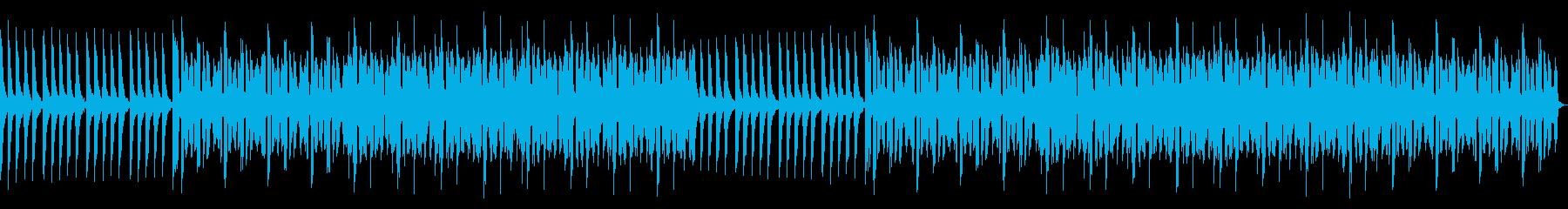Digital. graphic. Techno_4's reproduced waveform