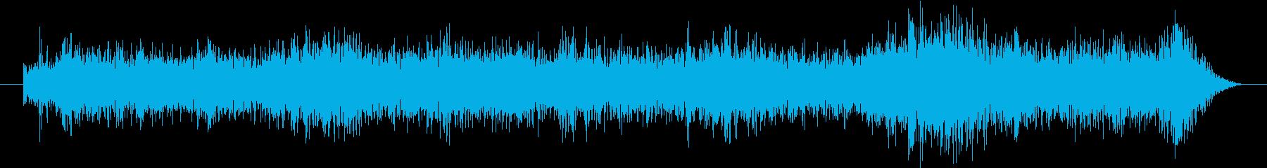 ホール内の雑踏の再生済みの波形