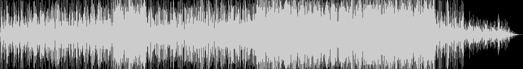 軽快な雰囲気のスムースジャズ風ポップスの未再生の波形