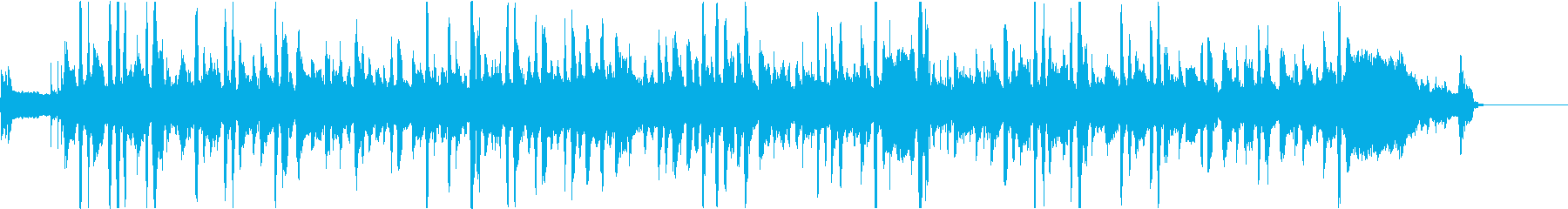 しいたけをテーマにした楽曲の再生済みの波形
