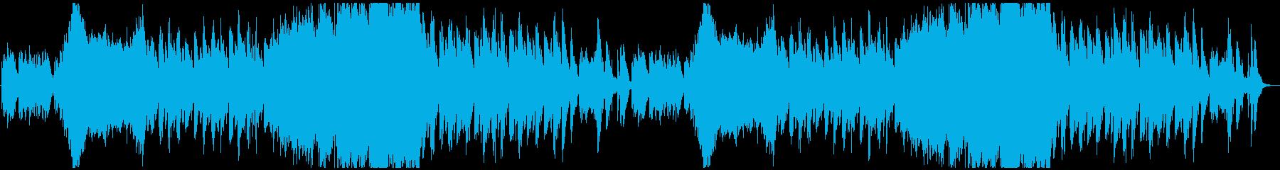 不吉で不気味、壮大なハロウィーン系ワルツの再生済みの波形