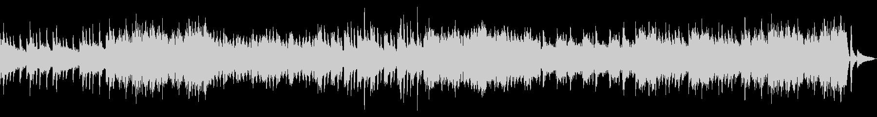 癒しのピアノ、ストリングスBGMの未再生の波形