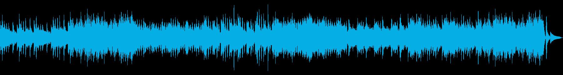 癒しのピアノ、ストリングスBGMの再生済みの波形
