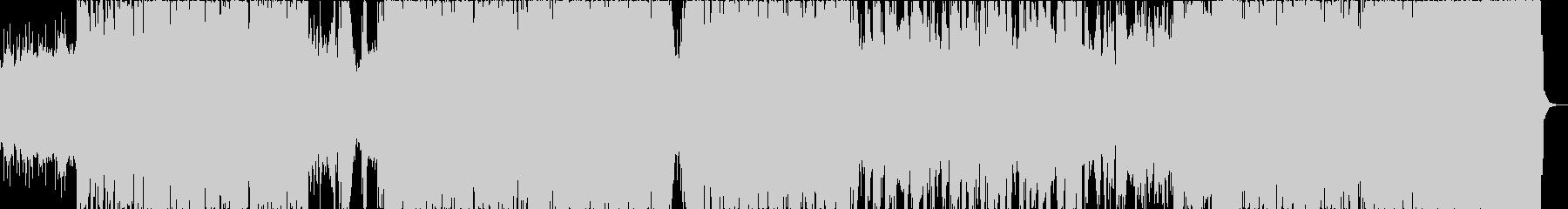 エレクトロのBGM 超クール の未再生の波形