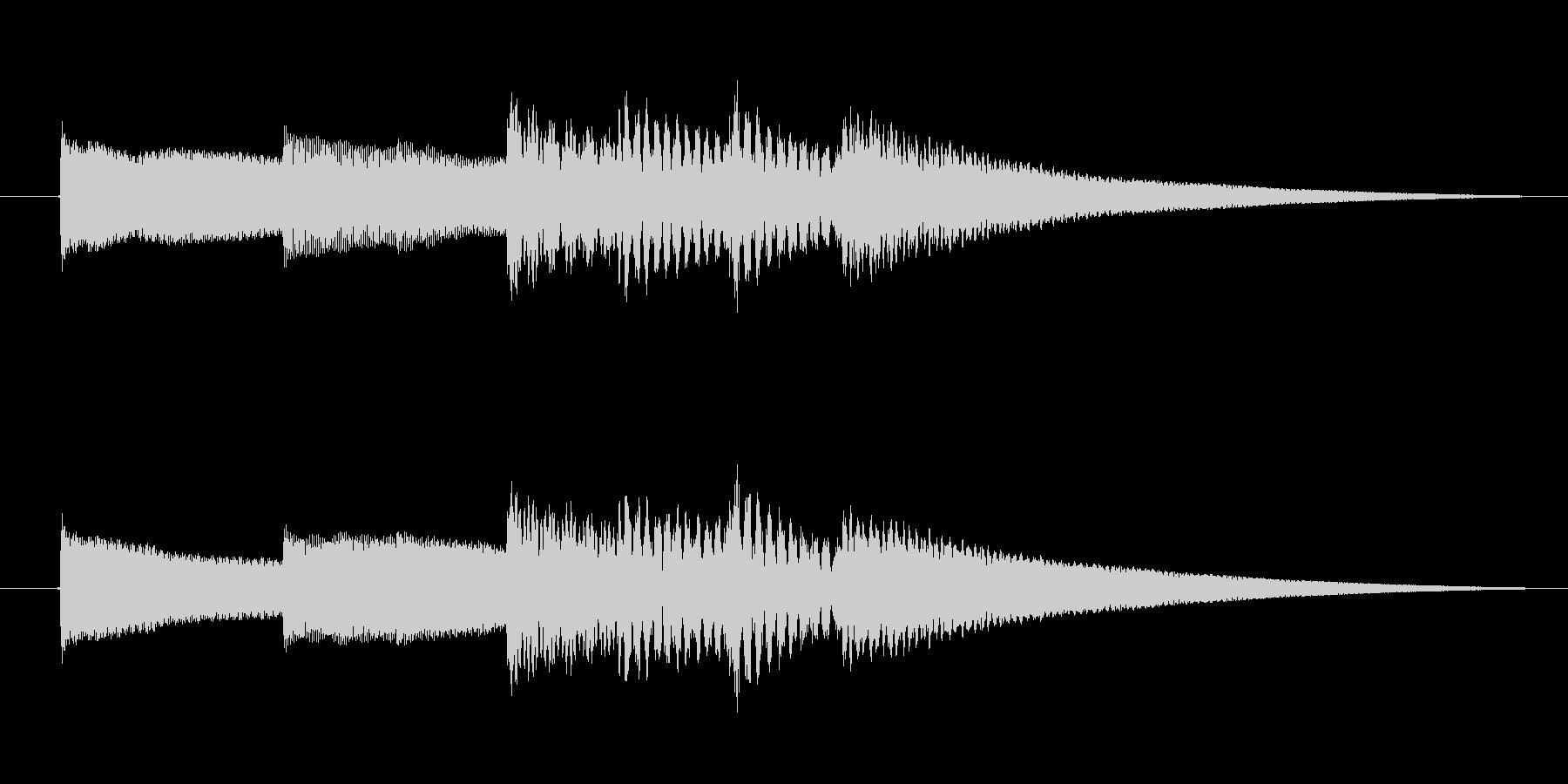 シンプルで優しいオルゴールアイキャッチ…の未再生の波形