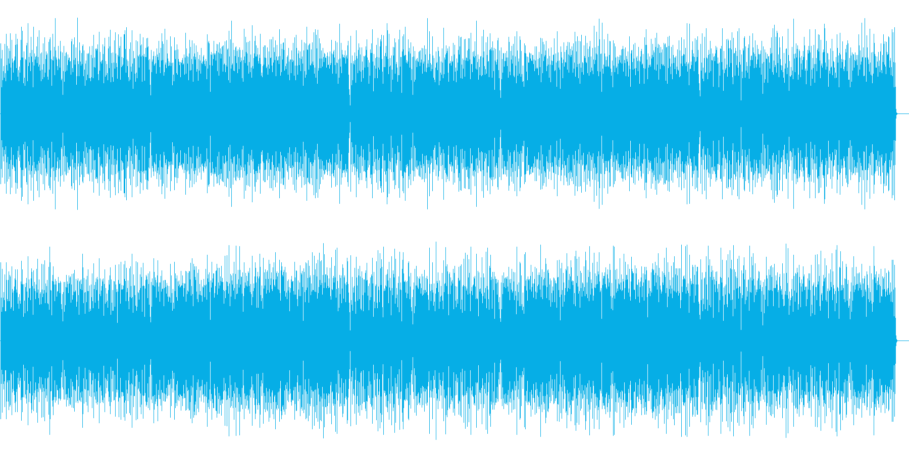 コミカルで楽しいジプシージャズ(ドラム無の再生済みの波形