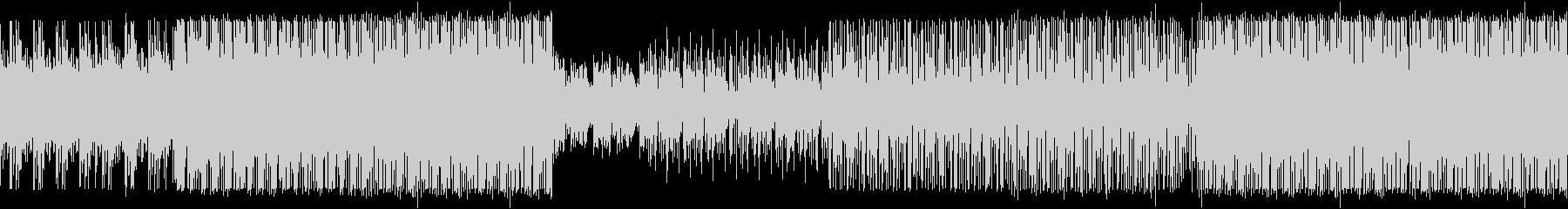 【ループ対応】ビートメインのBGMの未再生の波形
