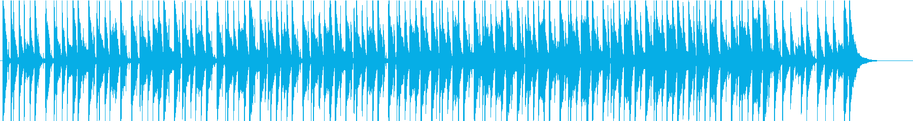ウクレレほのぼのPOP2の再生済みの波形