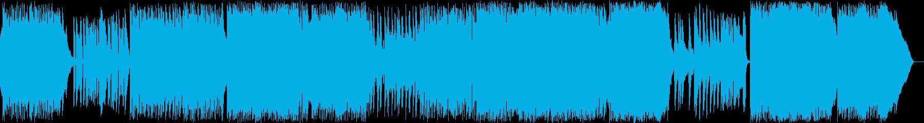 ノスタルジー、青春、キラキラの再生済みの波形