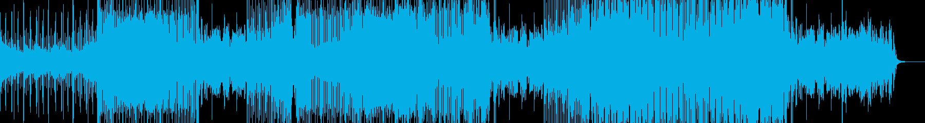 爽やかなリキッドファンクの再生済みの波形